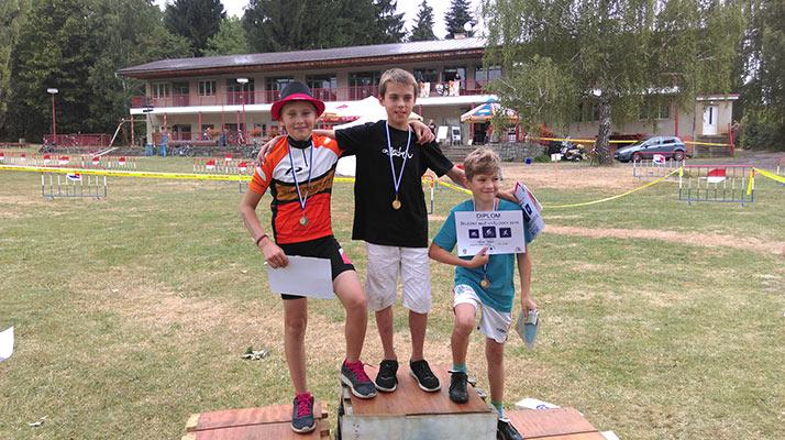 """""""Bedna"""" kategorie 2003/04 dětských závodů (2001/02)"""